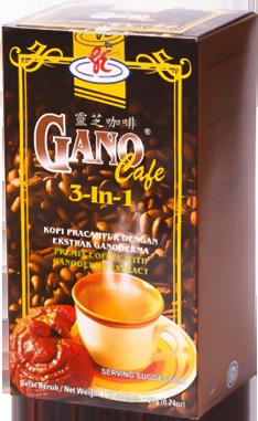 delgada ganoderma a infuzat cafeaua de slăbire)